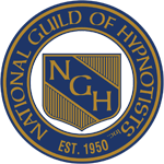 Logo, National Guild of Hypnotists (NGH), U.S.A.